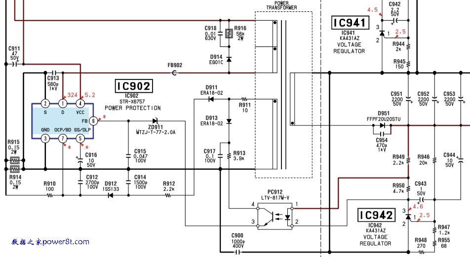 电路 电路图 电子 原理图 952_521