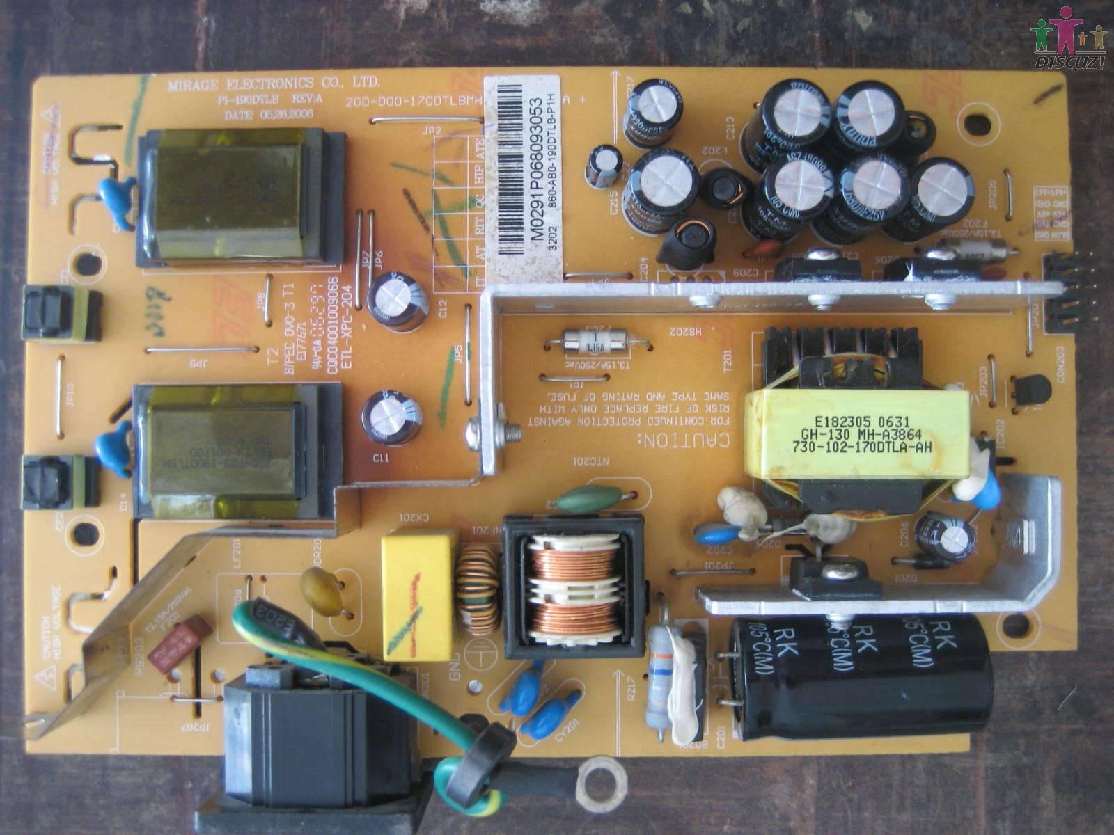如把高压保护电路停止工作后灯还是不亮才考虑高压板及电源电路
