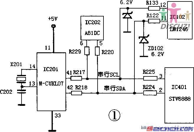 电路 电路图 电子 原理图 658_449