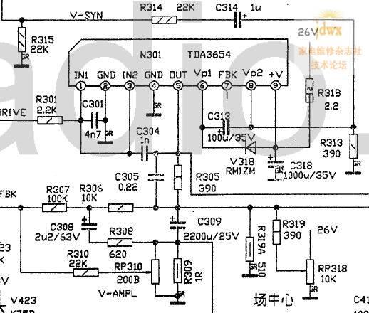 多半还在行输出电路元件损坏,注意偏转有问题不.       枕校电感短路?