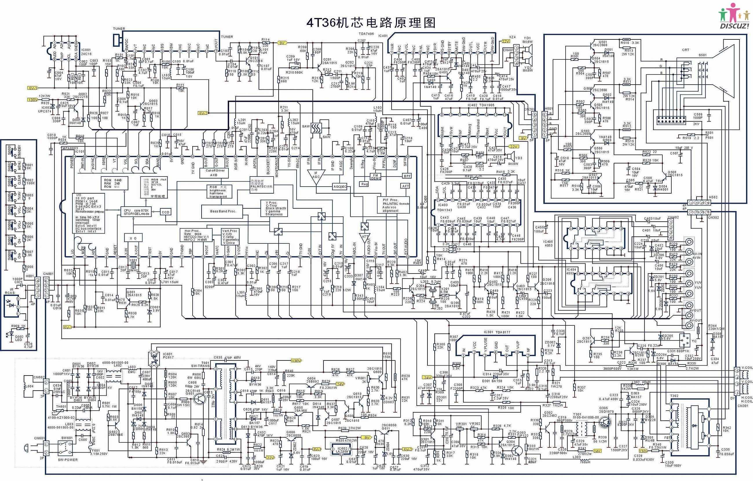 创维25nm9000电源图纸