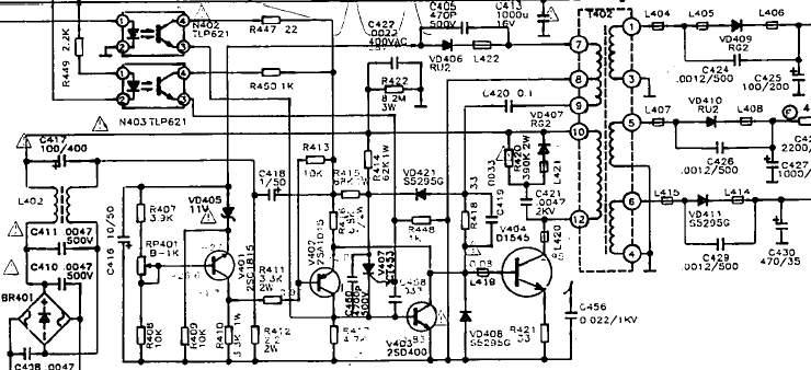 康隹953p屡烧电源板,我没有电路图