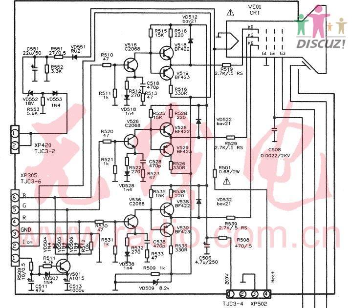 【】转修机康佳p2982c黑屏无声按键无效