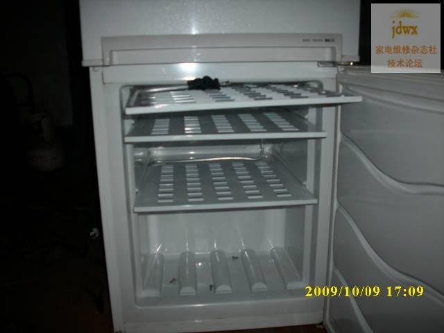 海信冰箱内漏