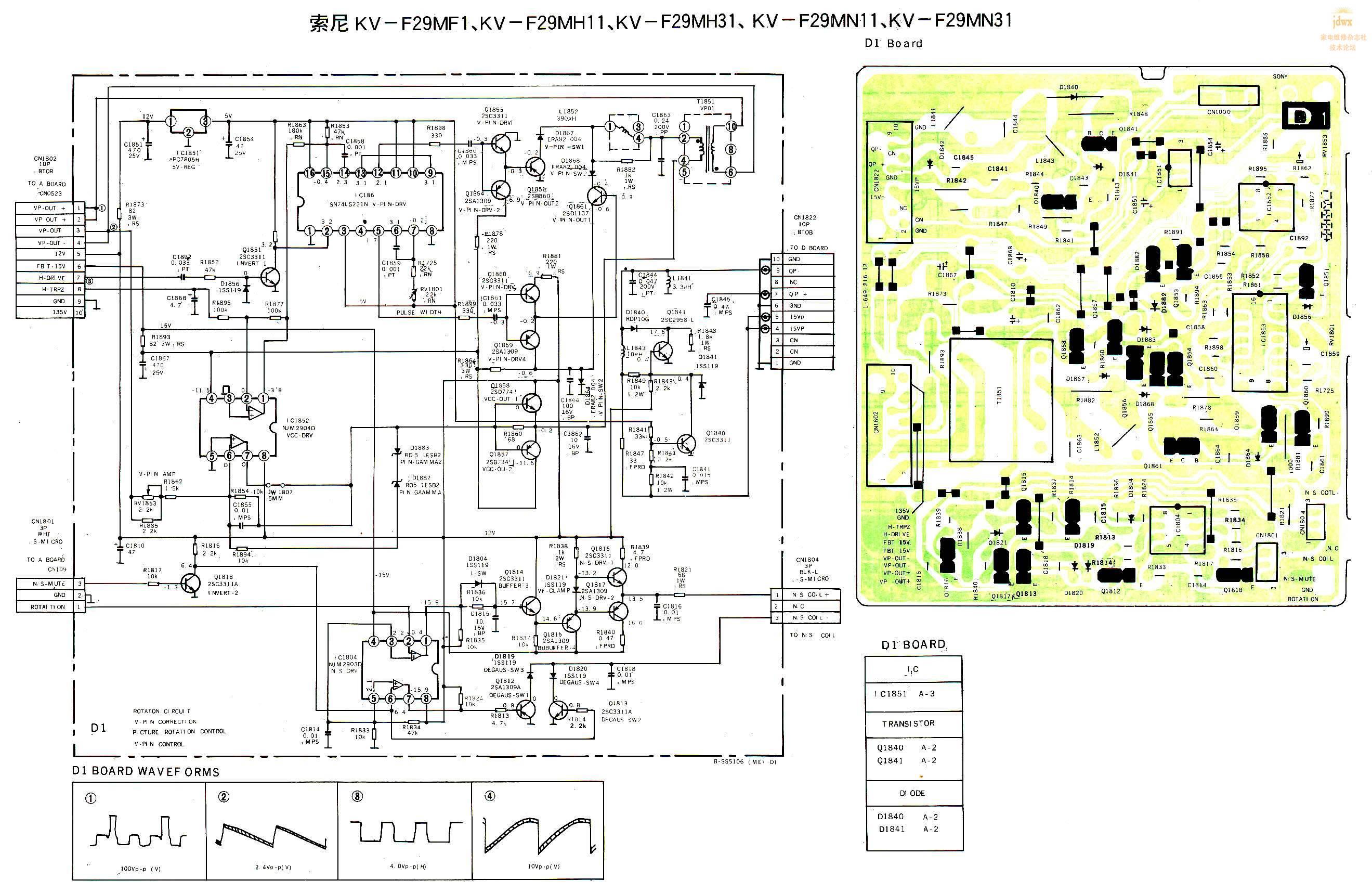 sony索尼dtc57es电路图