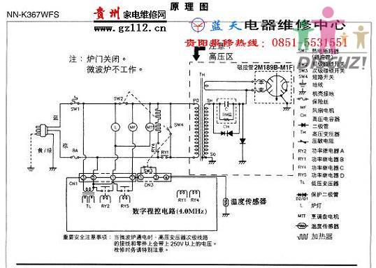 松下nn-gx35wf微波炉老烧电源保险丝请指教