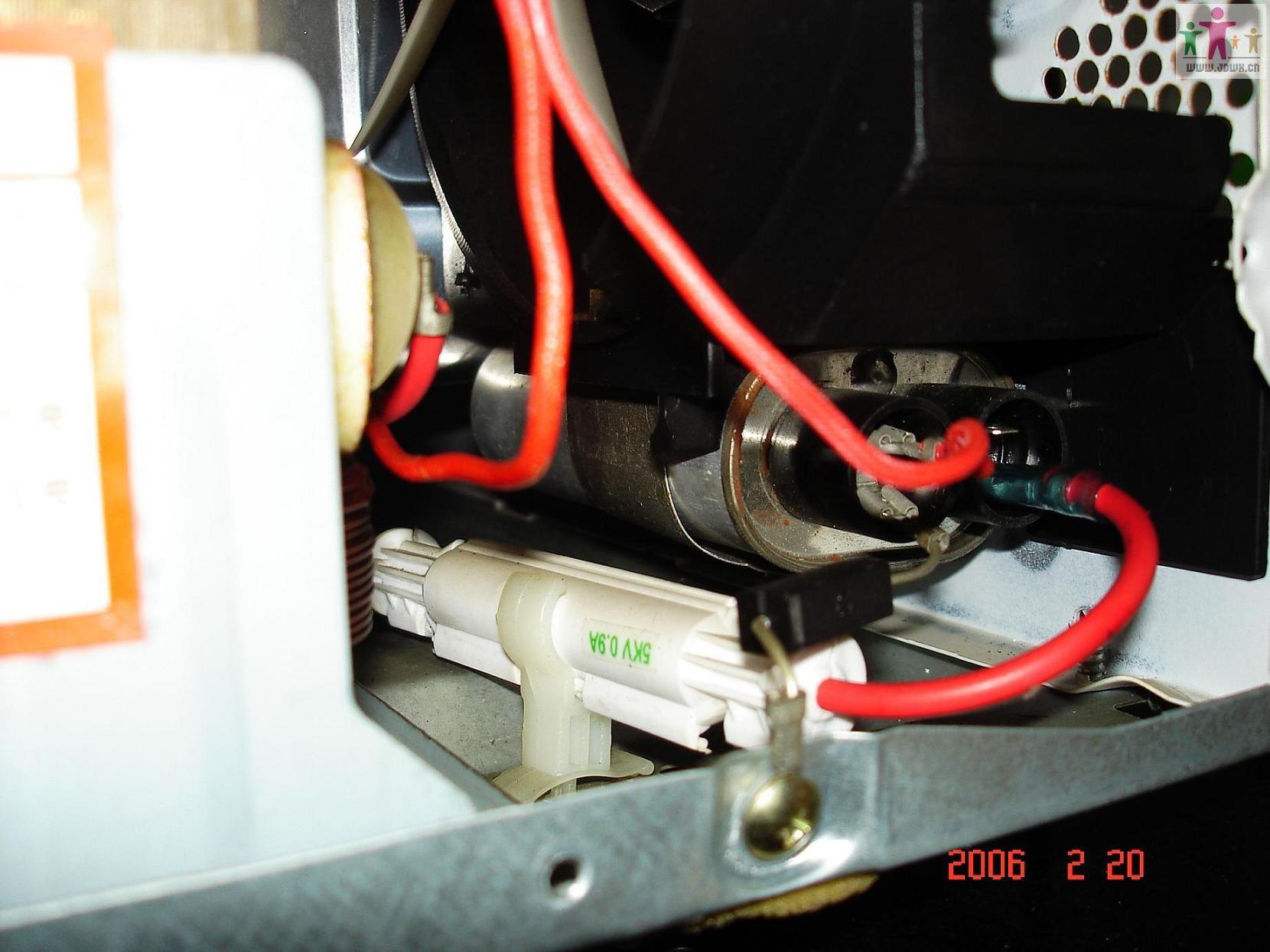 那个是变压器次级高压端插头