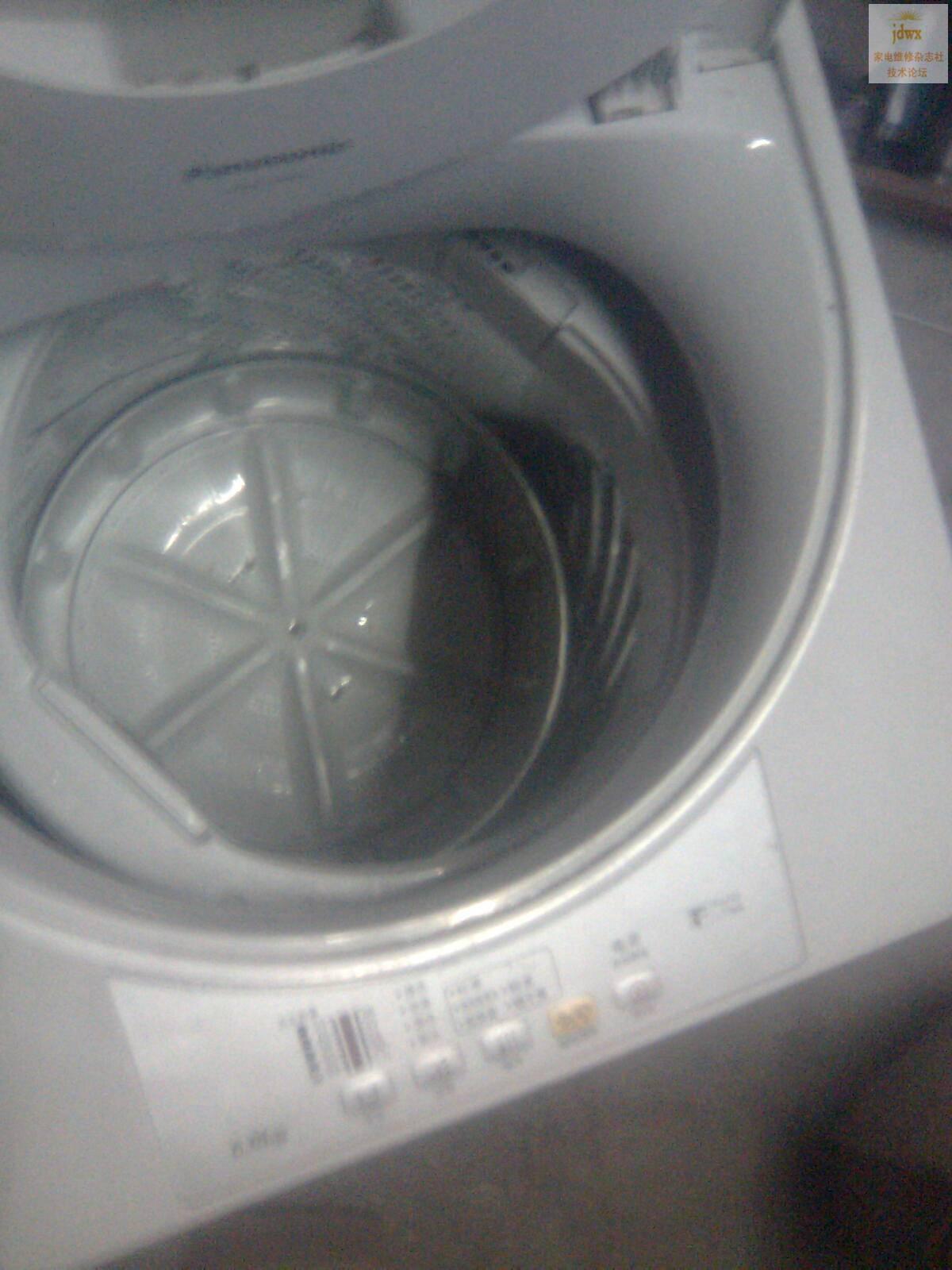 松下全自动洗衣机,离合器坏