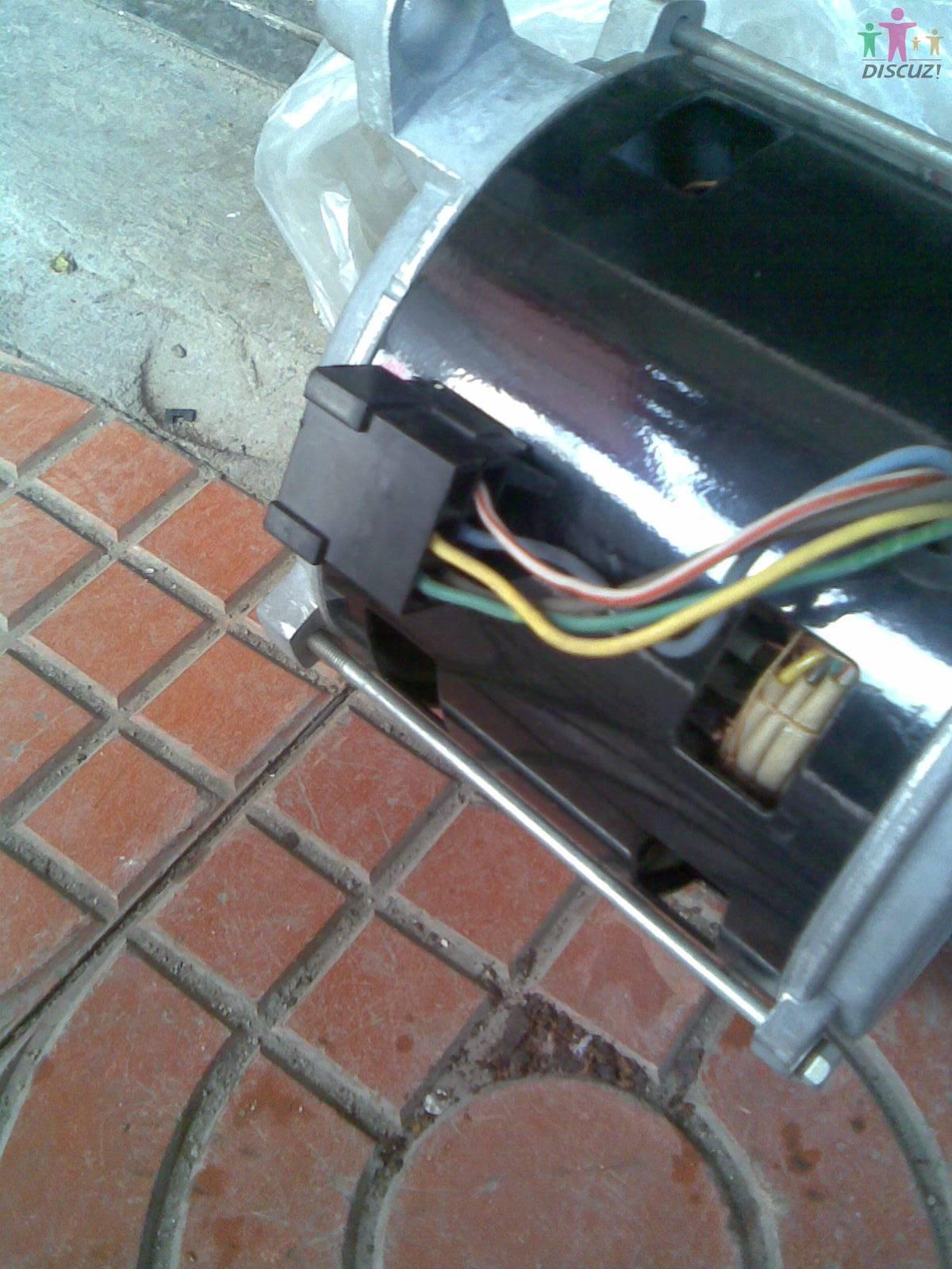 滚筒洗衣机电机代换后怎样接线?