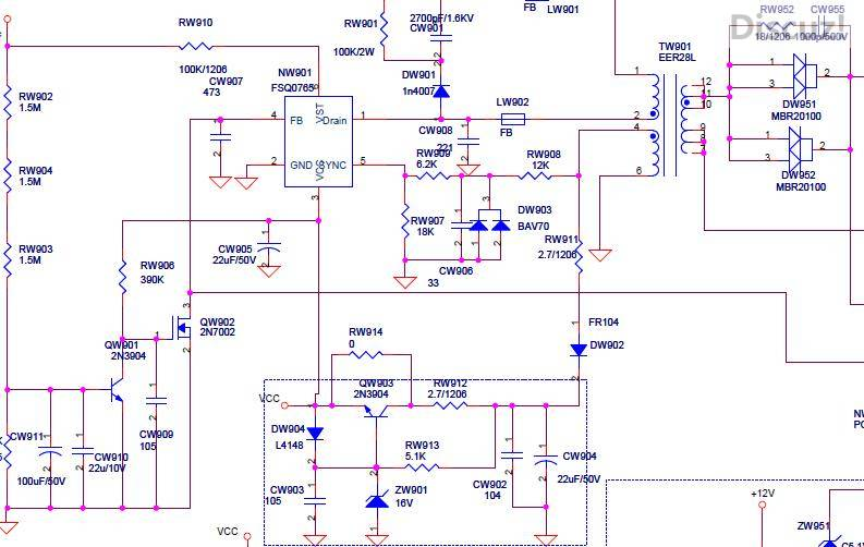 教一份康佳lc26dt68电源板图纸