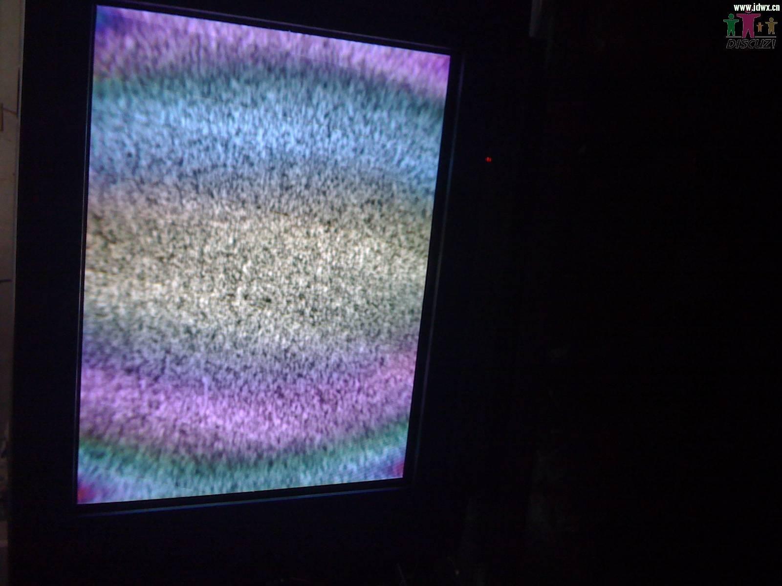 康佳高清p29mv103怪图像好像消磁不良(有图)