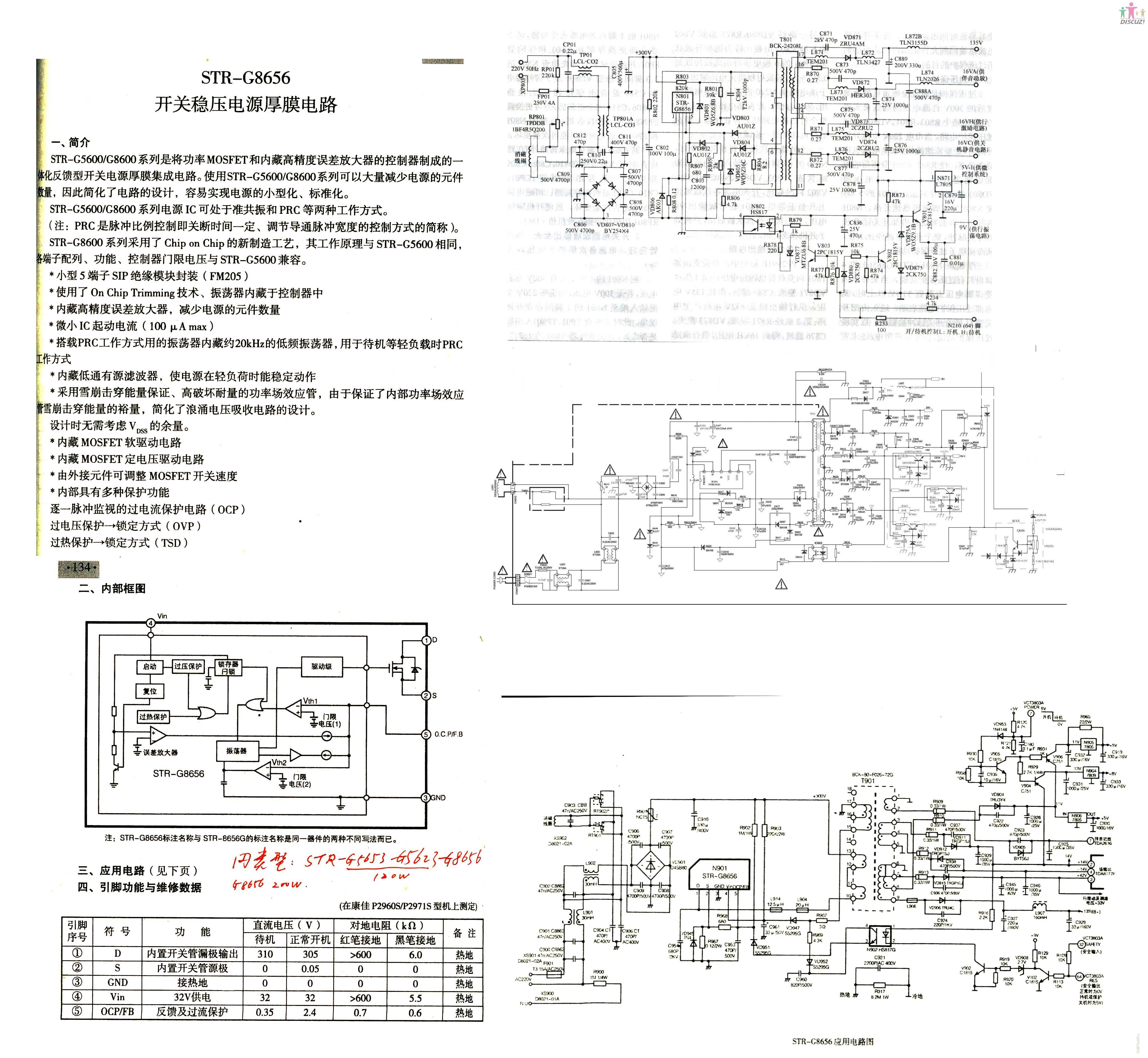 海信电视机中str9656和str8656可以带换吗?