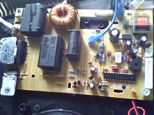 一台杂牌电磁炉内部电路没有lm339,这种电磁炉不知道是如何工作的,哪