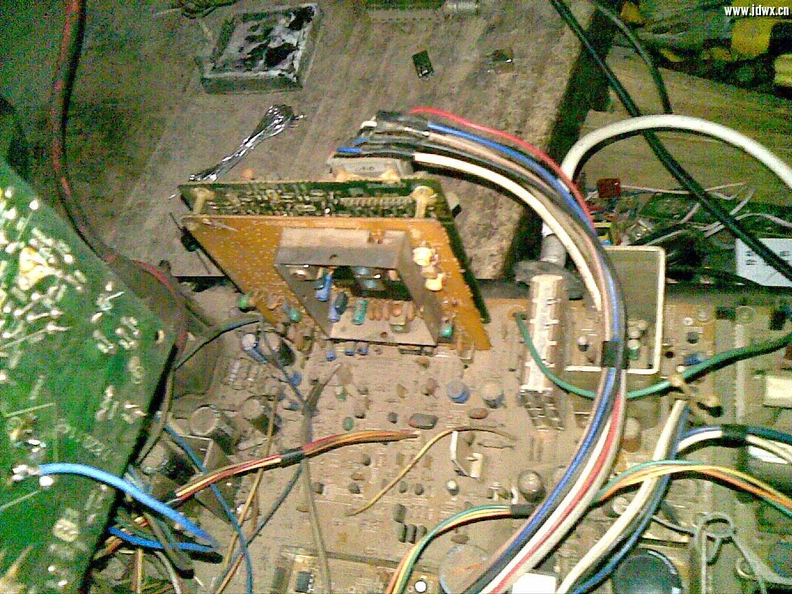 长虹c2588v,ta7680 ta7698  故障现像是有的台清楚有的台不清楚清楚