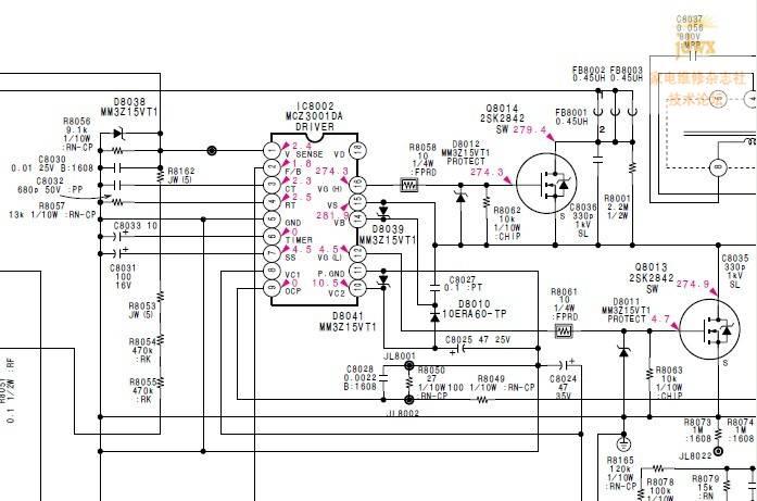 电路 电路图 电子 原理图 697_461